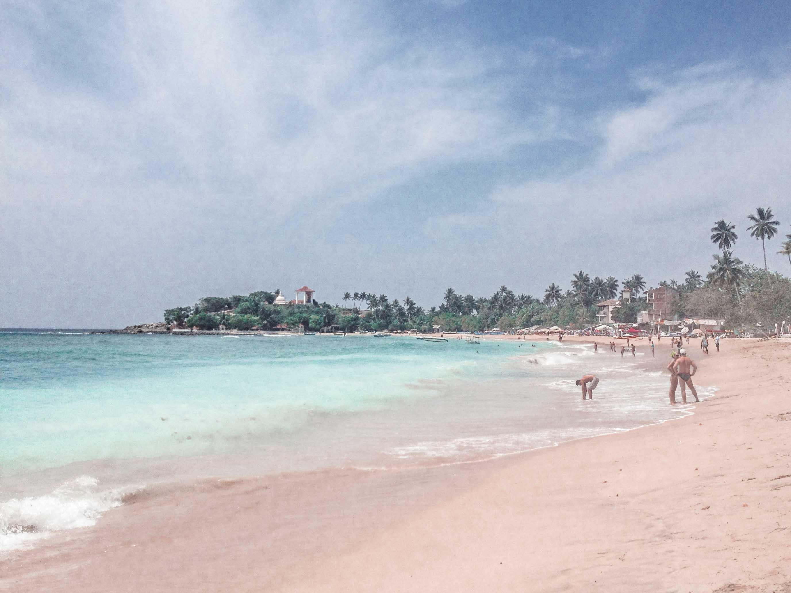 Unawatuna Beach Sri Lanka Ausflüge