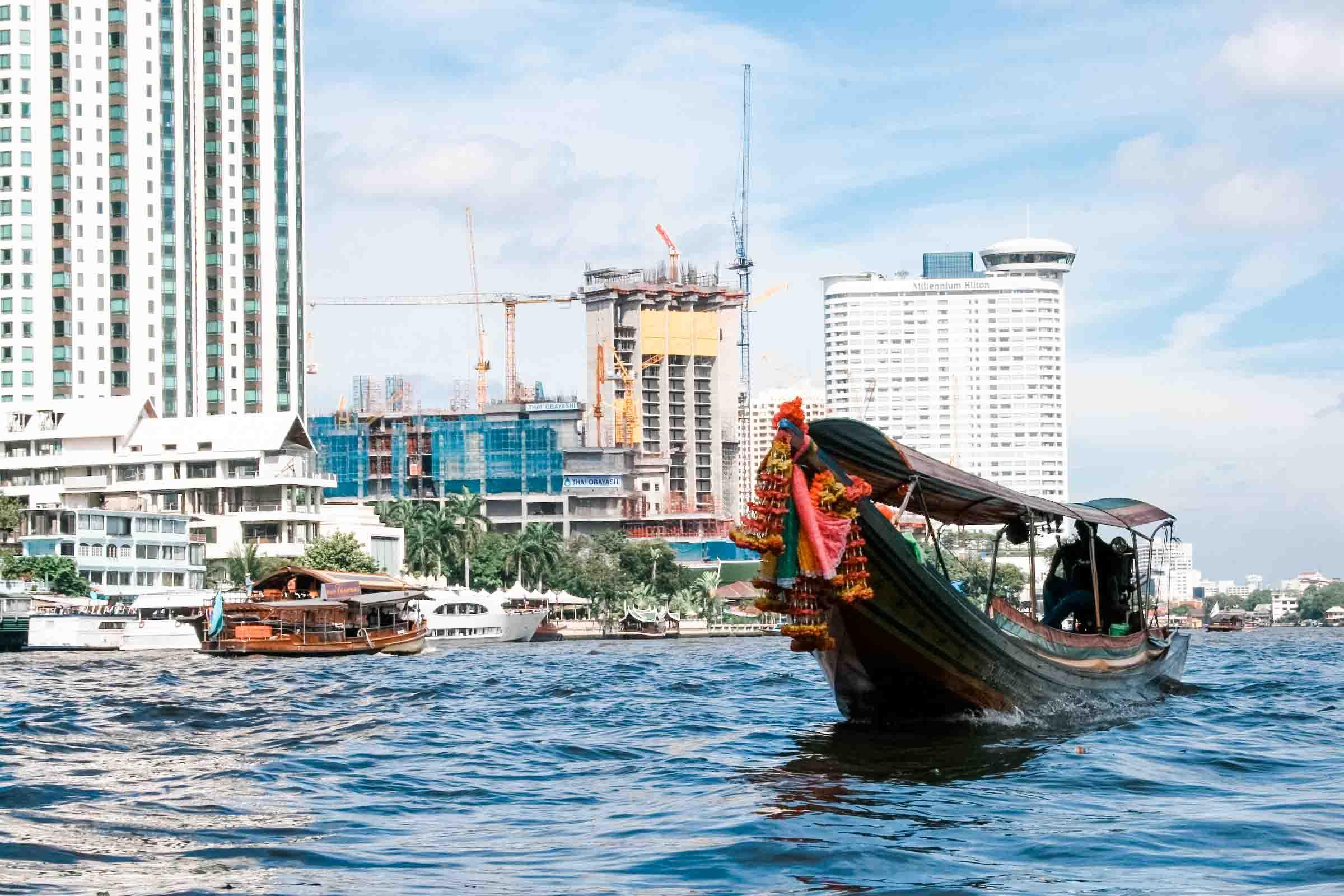 Bangkok 23timezones Flussfahrt