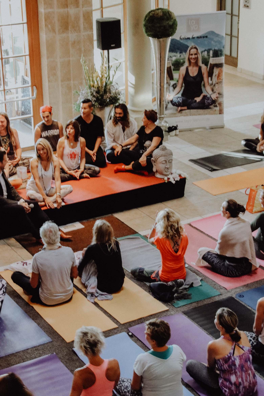 Yoga festival Kitzbühel mit Sportalm