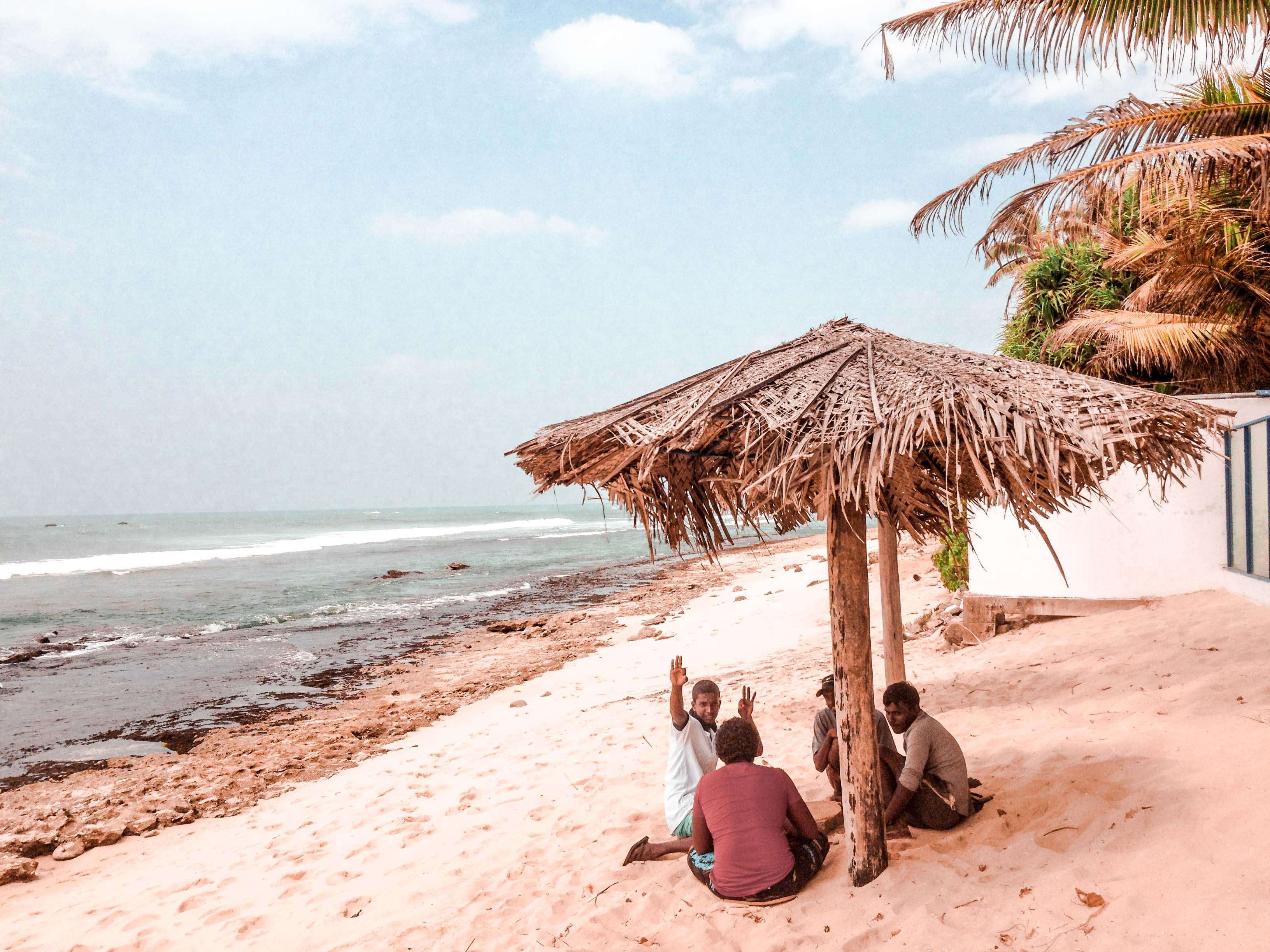 Sri Lanka Ausflüge: Mirissa Beach