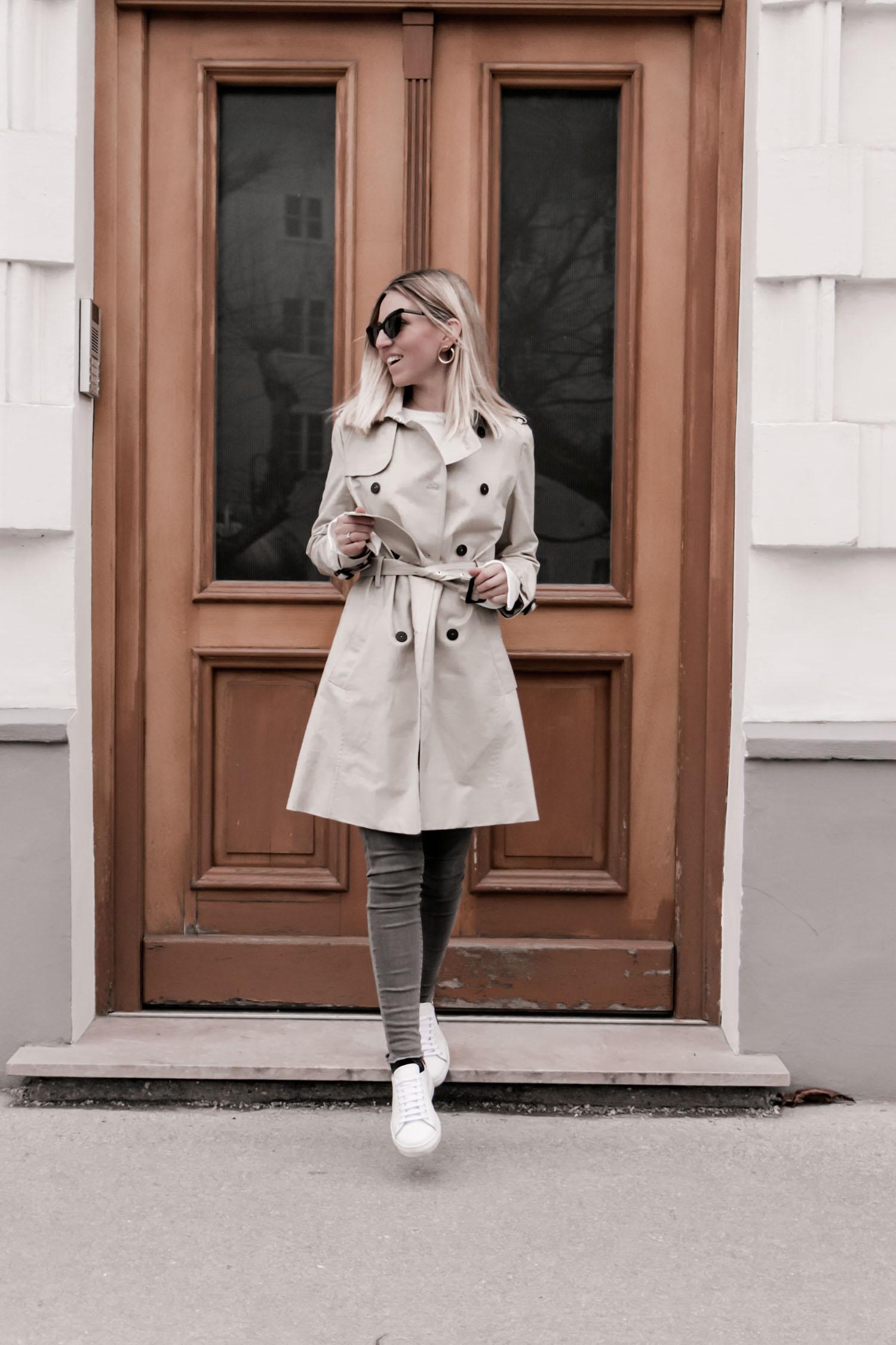 Klassischer Tenchcoat 2018 23timezones Christina Faullend
