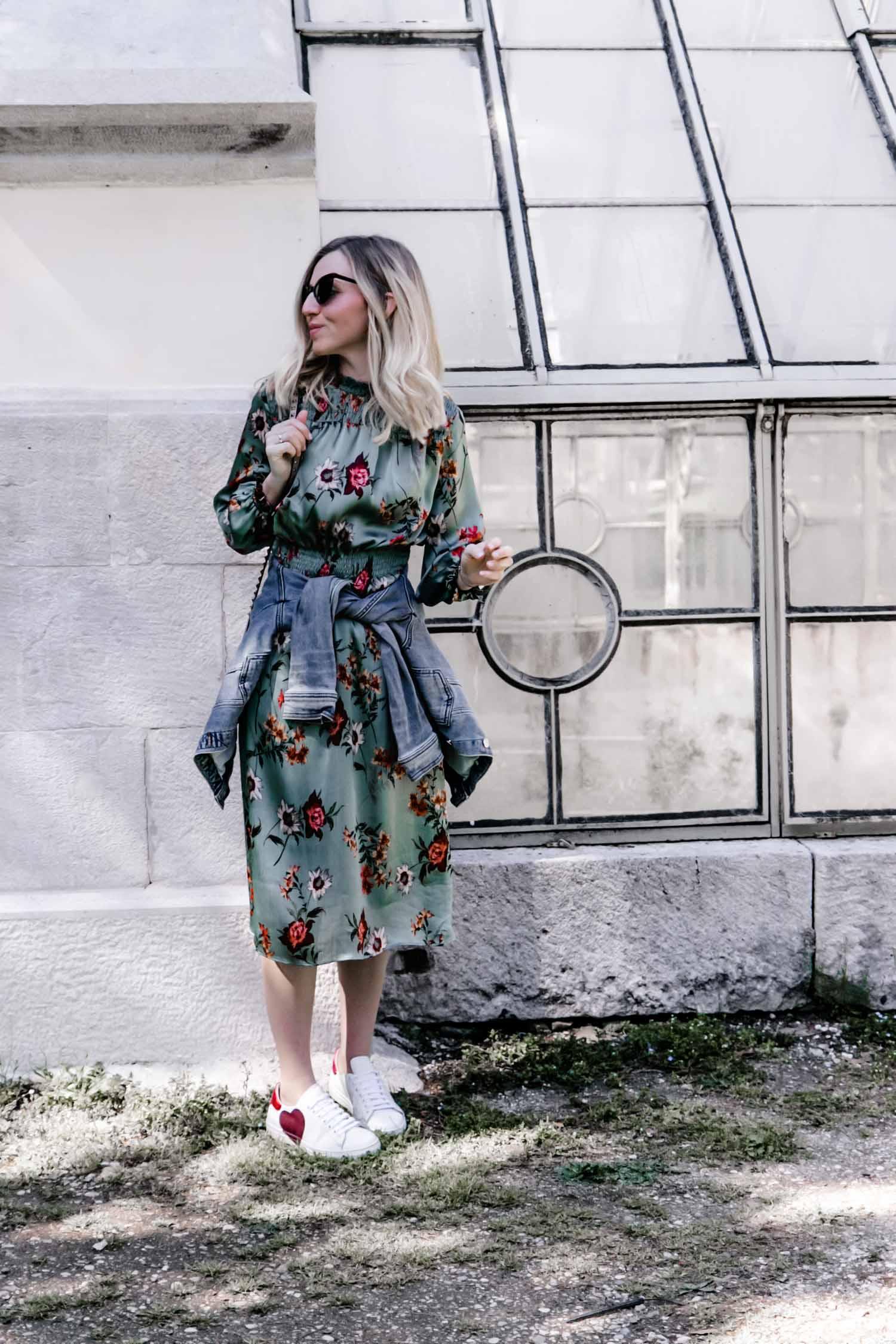 Blumenprint Kleid Blog your style 23timezones