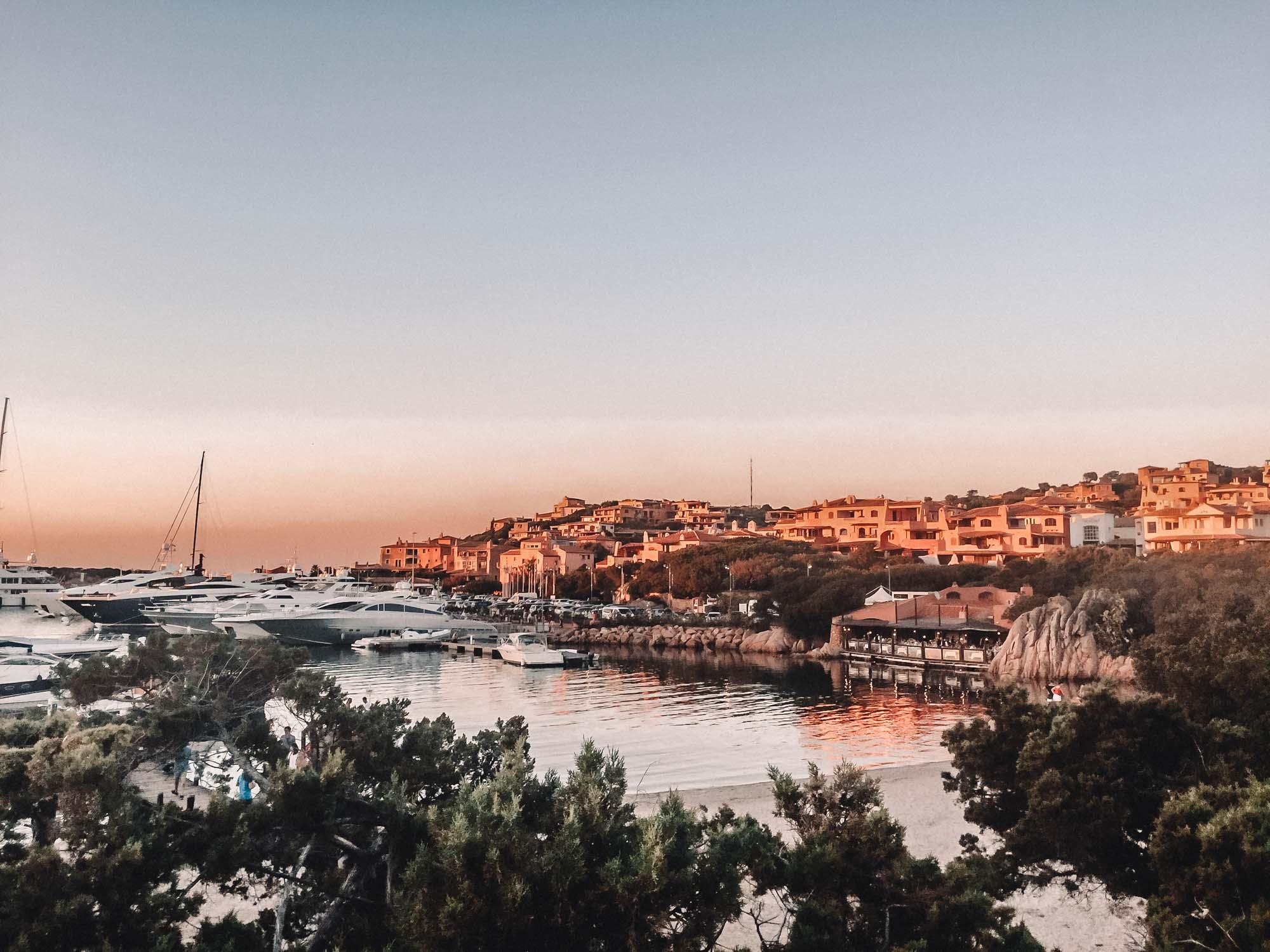 Sunset Porto Cervo