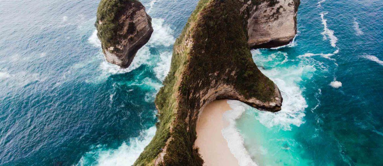 kelkingking beach viewpoint nusa penida