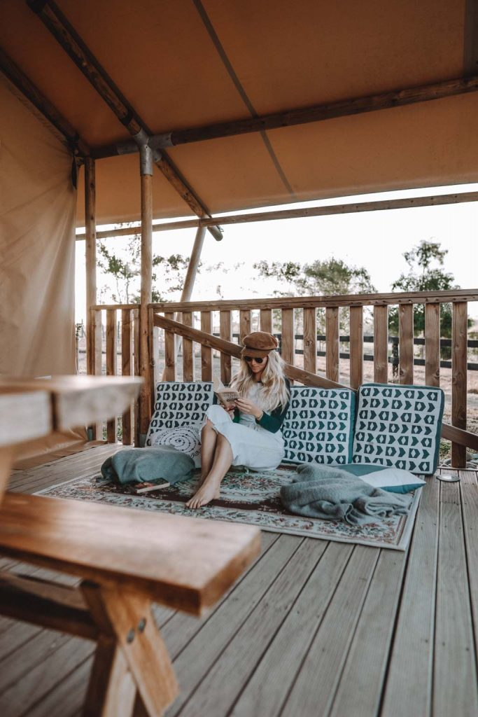 Outdoor Lounge Luxury Glamping