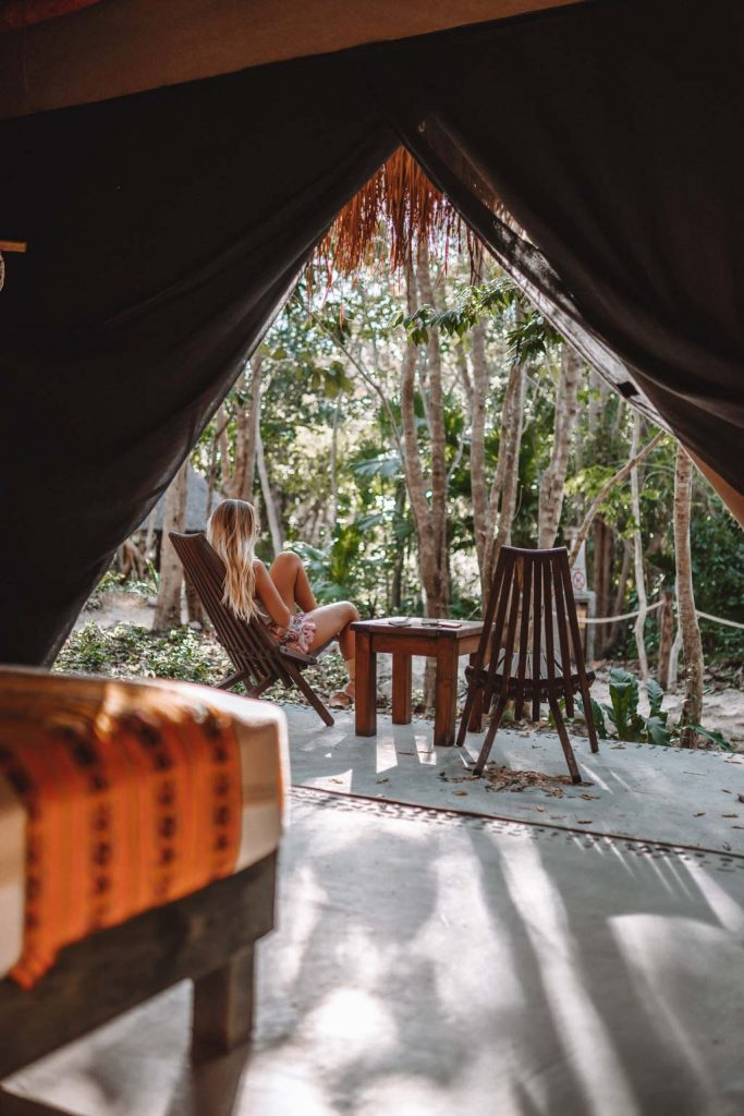 Glamping in Mexiko