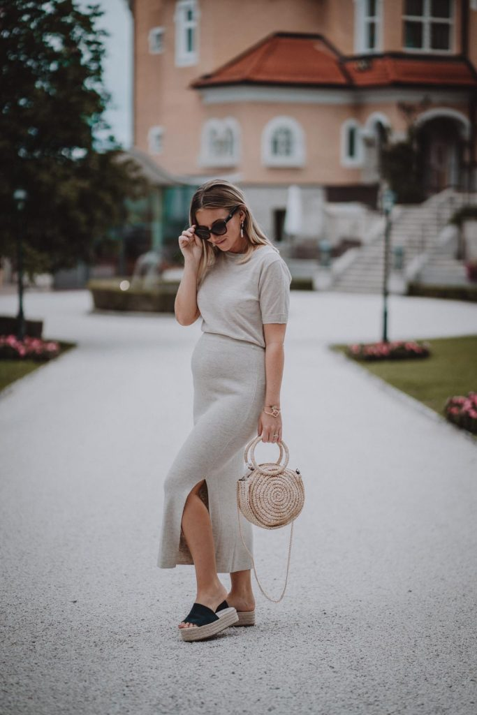Maternity Outfit Sommertaschen