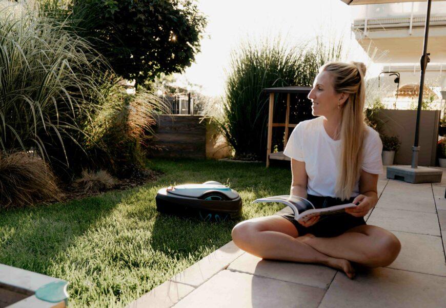 Bye Bye Gartenarbeit – smart mähen mit Mähroboter